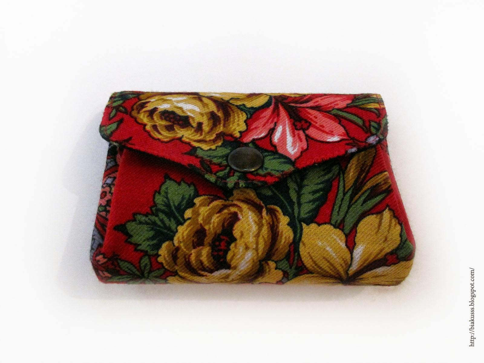 кошелек с цветами