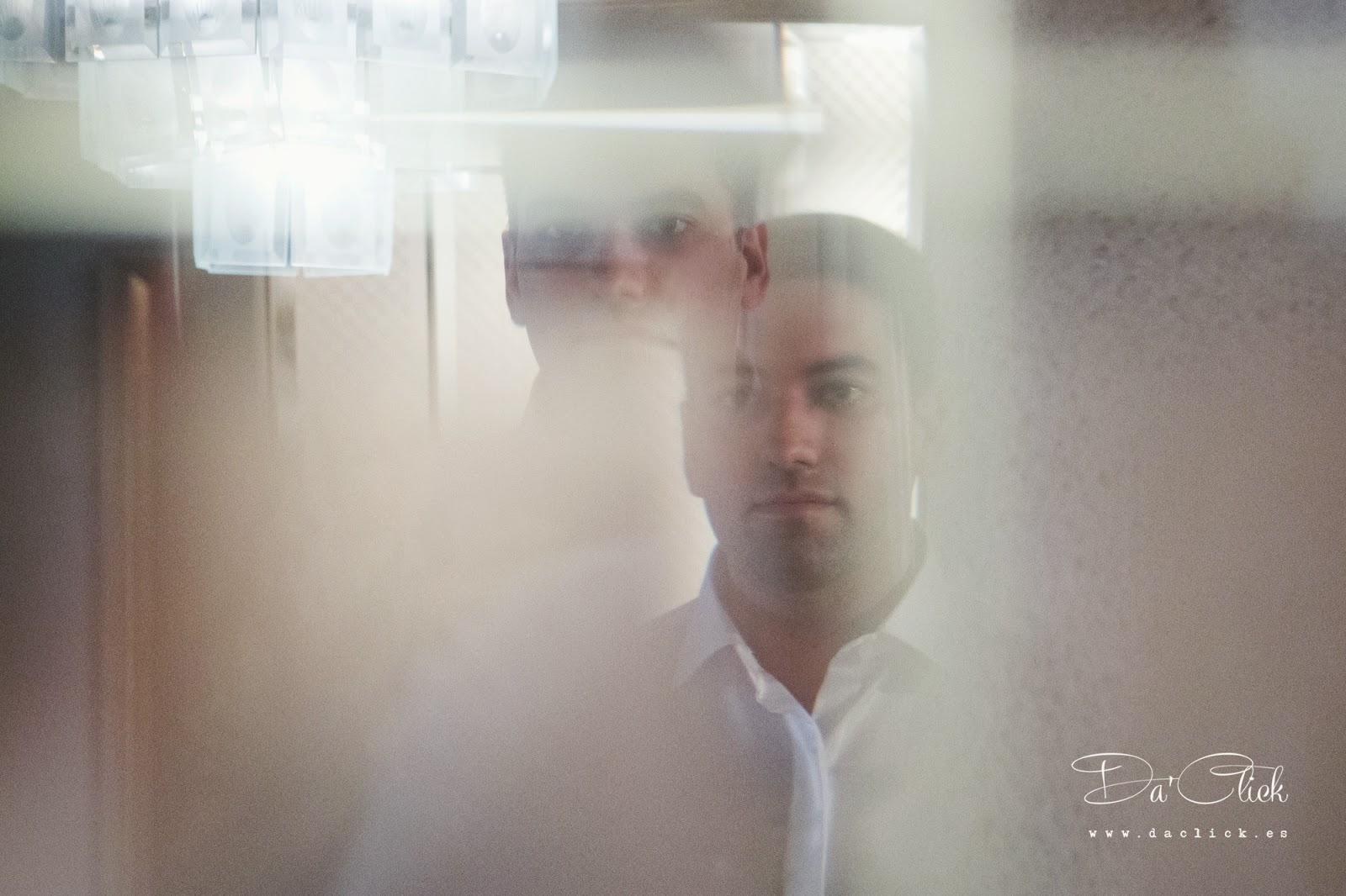 retrato efecto espejo