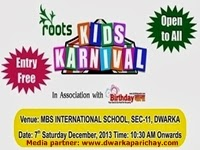 Kids carnival on 7th December