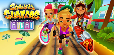 Free Download Subway Surfers World Tour Miami v1.11.0 APK Android