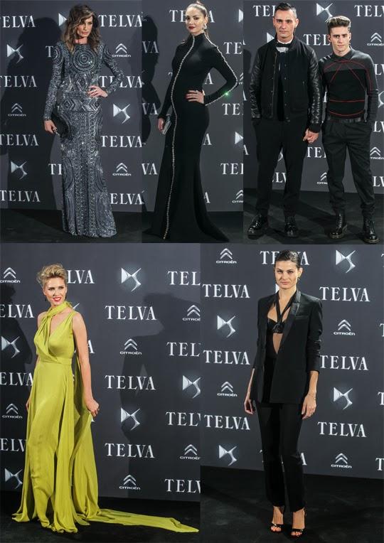 Premios Telva Moda 2013 alfombra roja