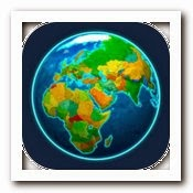 Logo App Earth 3D