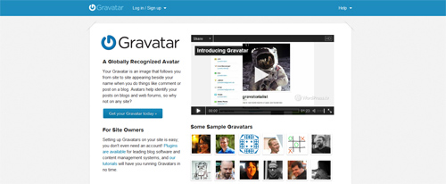 Gravtar for Wordpress