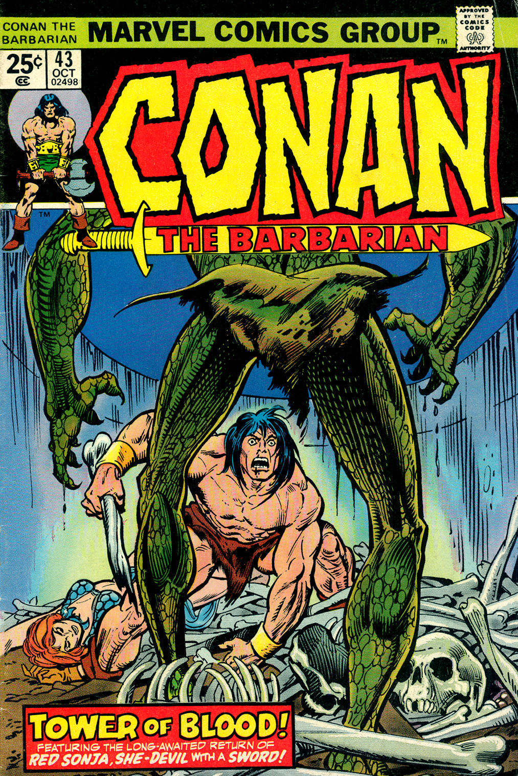 Conan the Barbarian (1970) 43 Page 1