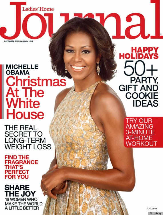 The First Lady is a Cover Girl! First Lady Michelle Obama Covers Ladies Home Journal! And She is Absolutely Stunning!