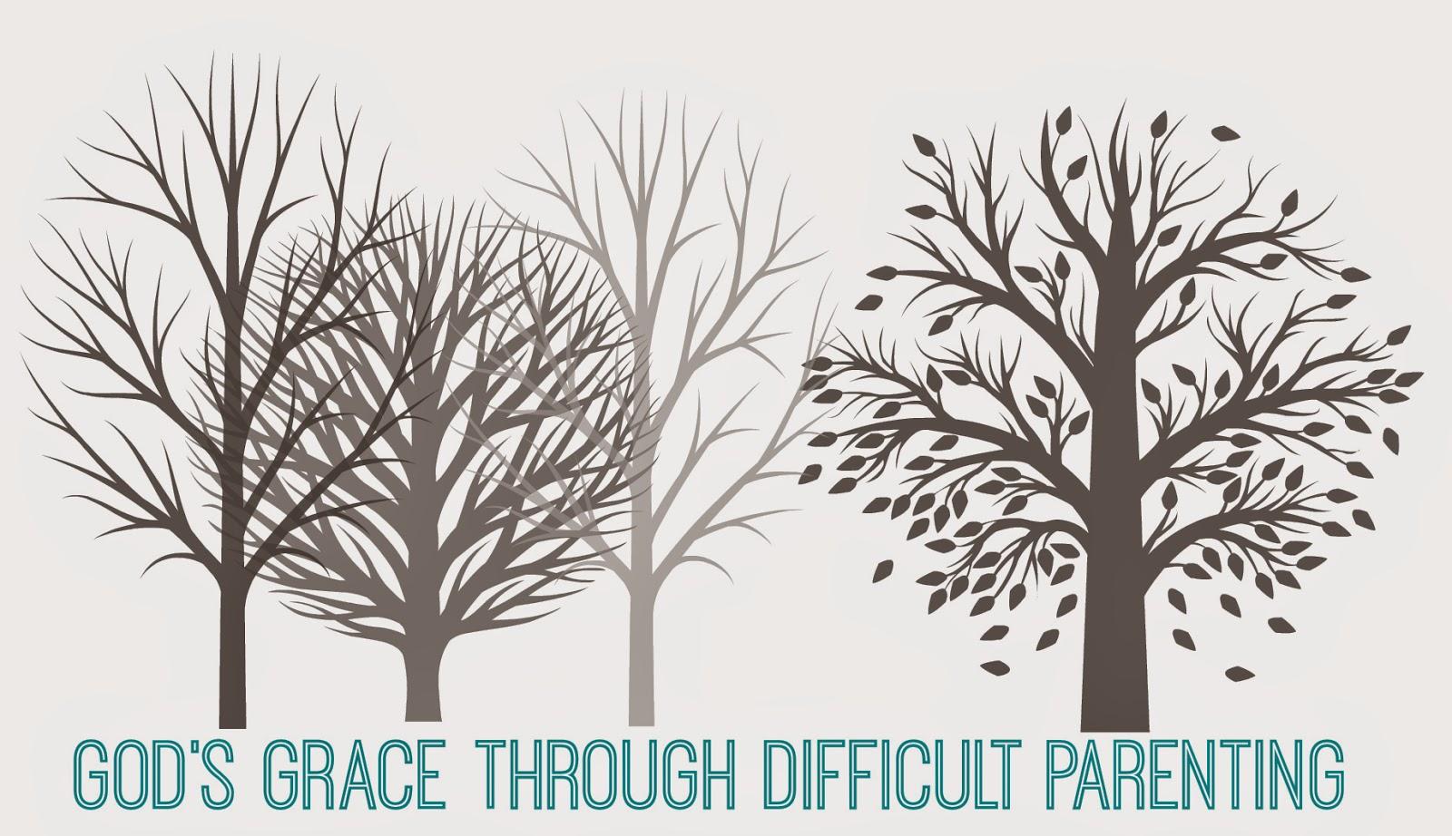 gods grace through difficult parenting, simple on purpose