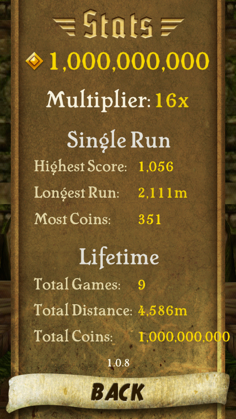 run patcher here s how you cheat in temple run by installing this apk