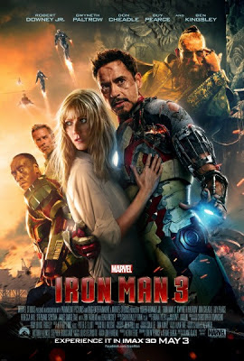 The cast of Iron Man 3 