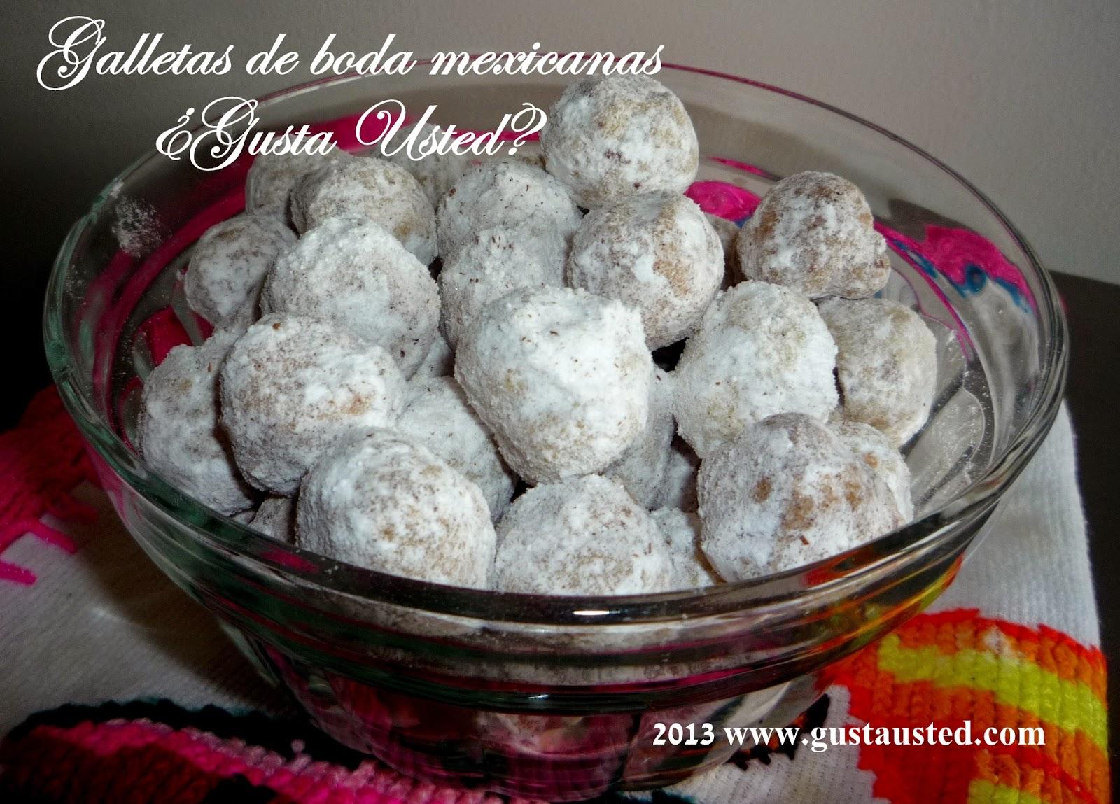 Gusta usted galletas de boda mexicanas c mo hacerlas - Como preparar mi boda ...