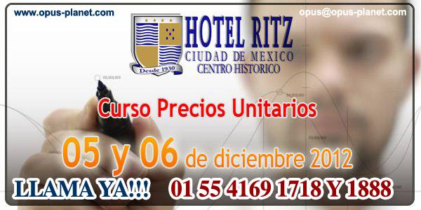 Curso Precios Unitarios Tel. 01 55 4169 1888