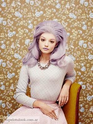 color de pelo 2014 peinados vintage
