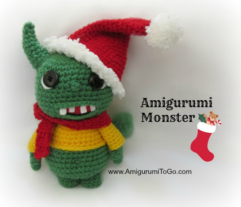 Amigurumi Monster Patterns : Amigurumi Christmas in November Album ~ Amigurumi To Go