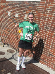 Westport St Patricks Day 4 mile Run 2012