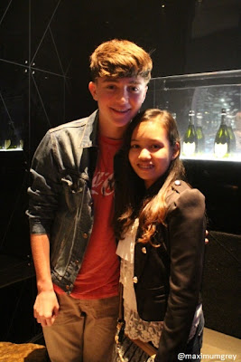 Greyson Chance at MCA/Smart Launch Party in Manila