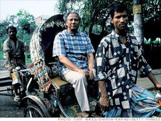 Muhammad Yunus emprendedores importantes
