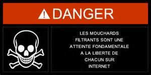 Danger filtage Internet