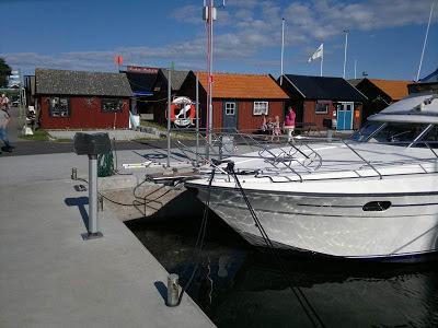 Öland: The harbour of Byxelkrok