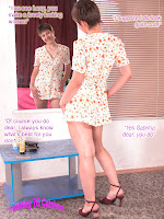 Titillating TG Captions: Feminized by his wife