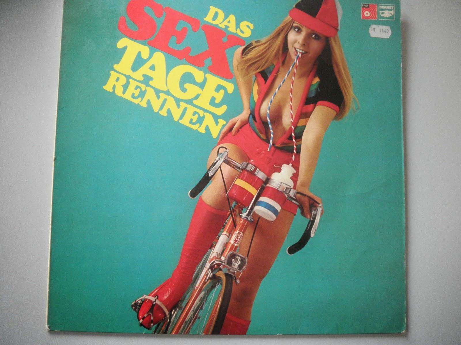St-Pedali: LP-Cover mit Fahrrad: Platte mit plattem Humor