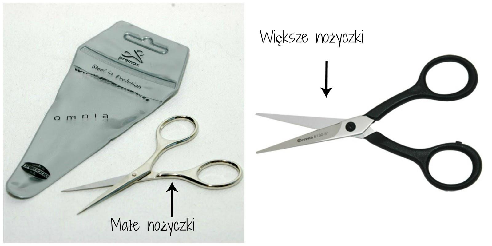 narzędzia decoupage nożyczki podstawy decoupage