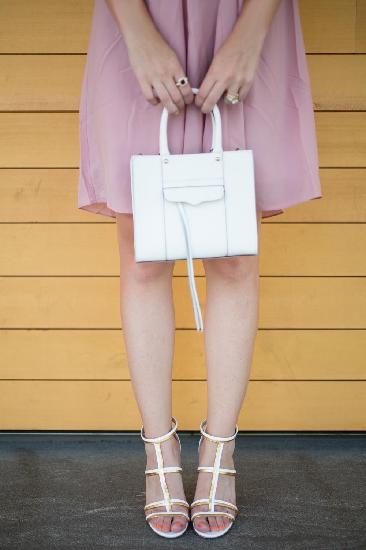 Rebecca Minkoff Mab Mini in White