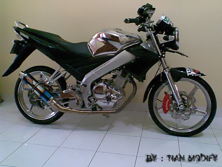 Yamaha Vixion Drag Style Modifikasi