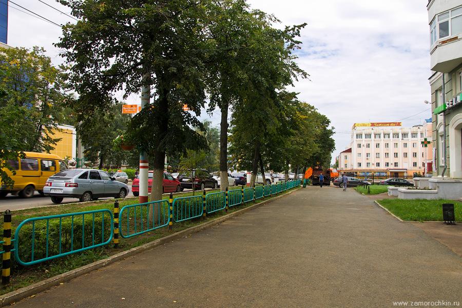 Саранск, перекрёсток улицы Коммунистической и проспекта Ленина
