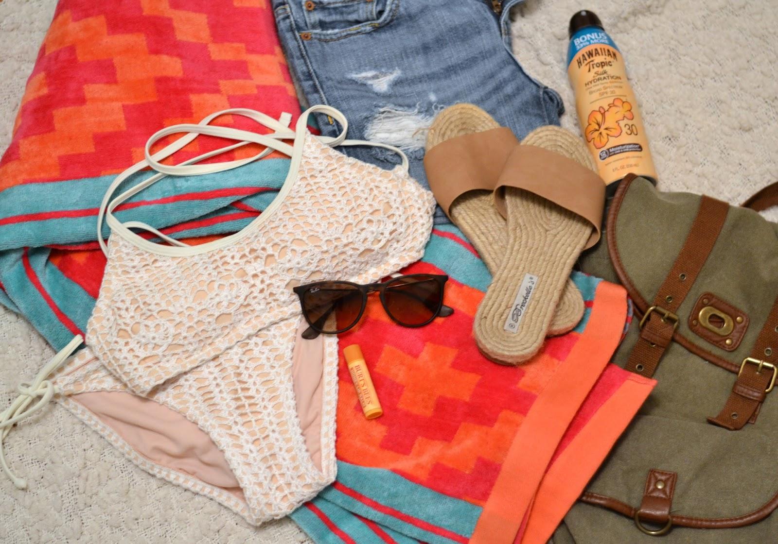 Lake and beach summer essentials