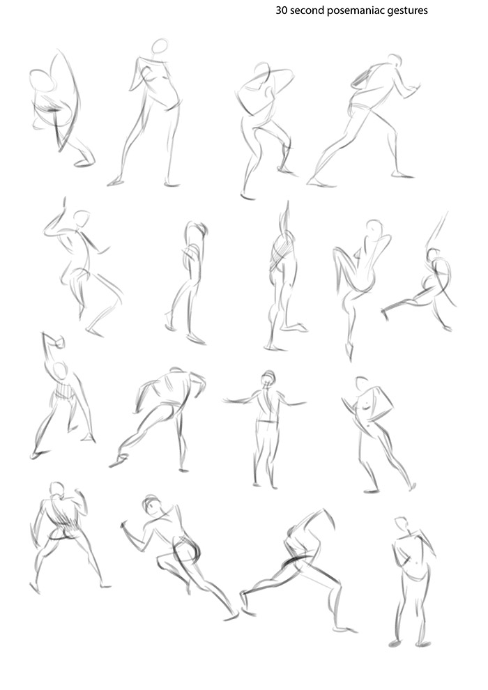 "Spartan Camp #311 - 50 gestures + Optional ""Summer Clothing Study"""