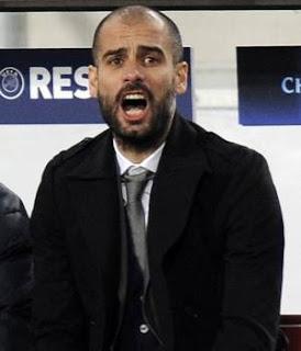 Guardiola tuvo que dar animo en el vestuario catalán