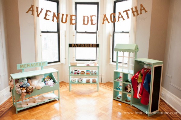 diy kids playstands patisserie menagerie boutique