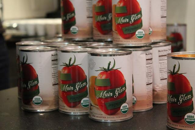 Muir Glen tomatoes