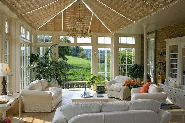Conservatory style ideas comfortable home for Conservatory dining room design ideas