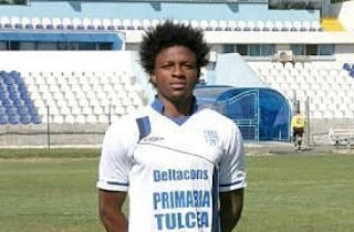 Nigerian footballer dies on pitch in Romania