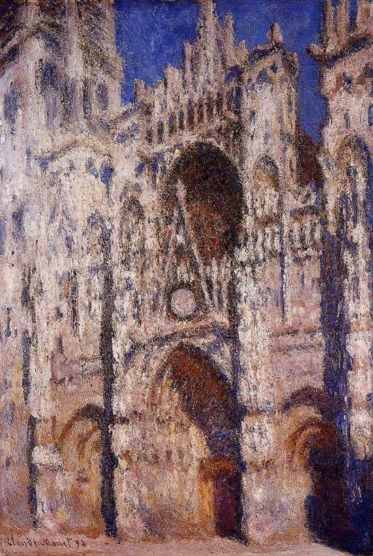 Claude Monet La Cathédrale de Rouen, effet d′après-midi (le portail, plein soleil). 1894 Christie′s, 1995