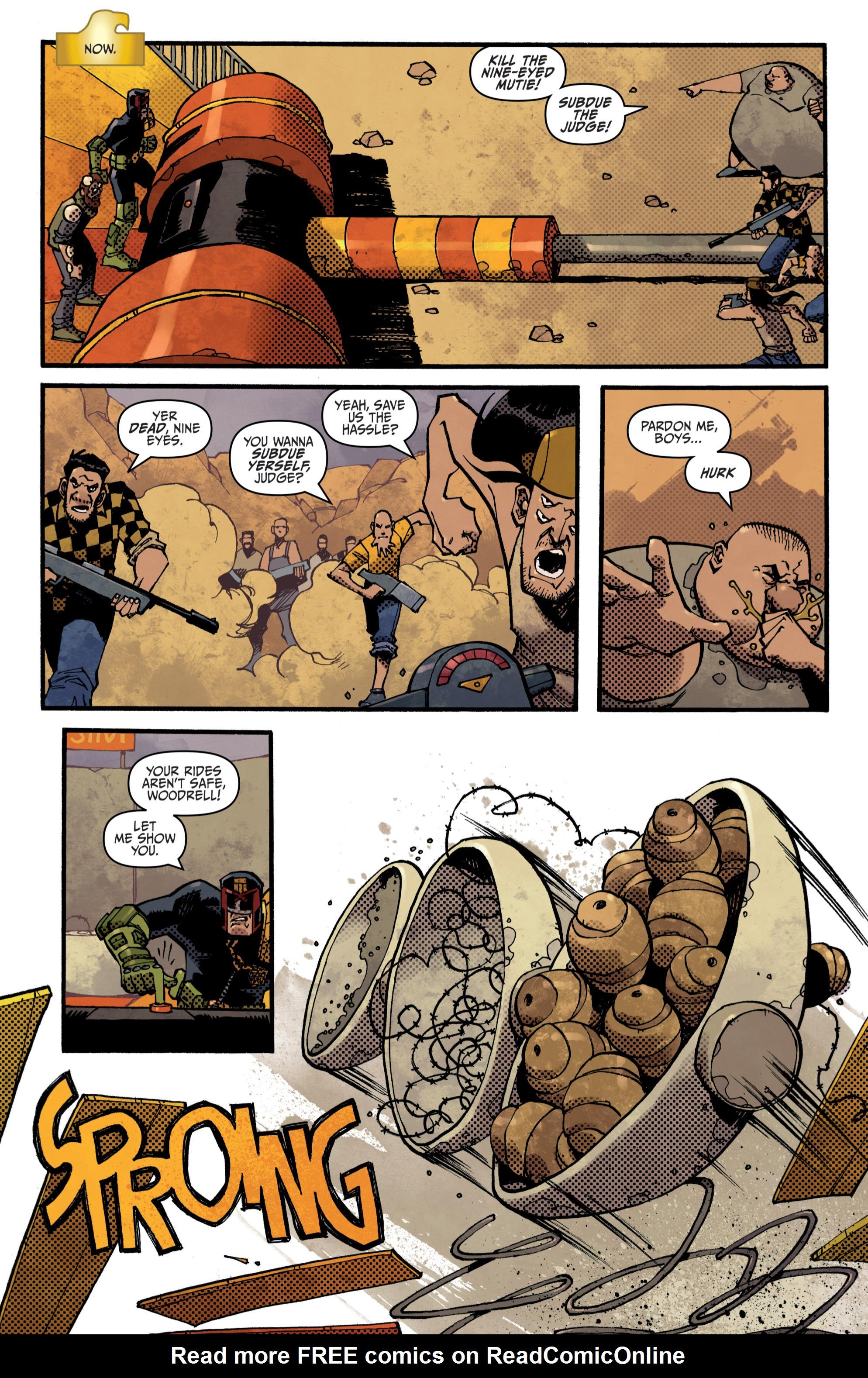 Read online Judge Dredd (2012) comic -  Issue # _TPB 3 - 36