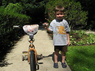 mater bike and Mater t-shirt, it says it's all about the gas