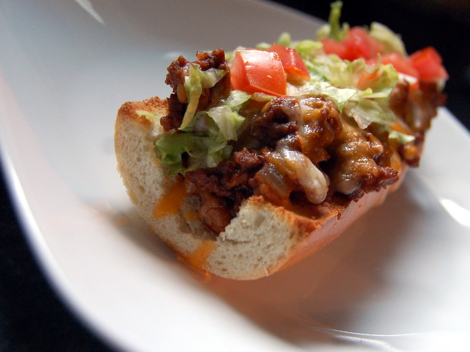 Cassie Craves: Taco French Bread Pizzas