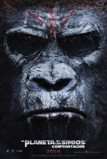 El Planeta de los Simios Confrontación [2014] [Dvdrip] [Español latino]