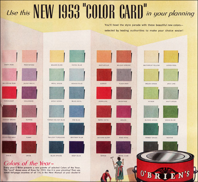 Mad For Mid Century Authentic Mid Century Paint Colors