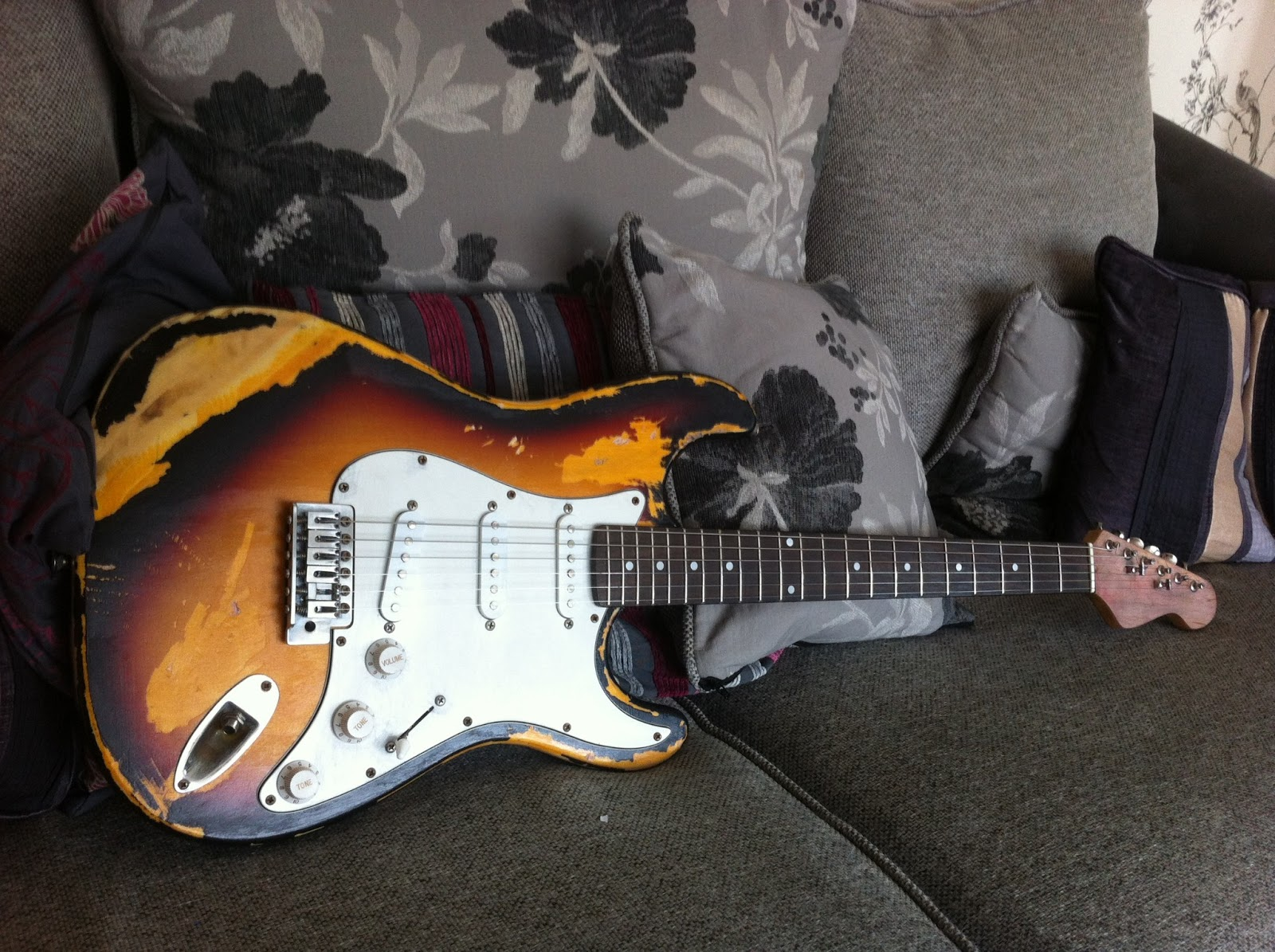 South Shields Guitar Lessons Stratocaster Project