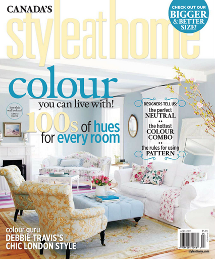 To The Light And Bright Interior Of This Lovely Home Featured In The April 2012 Issue Of Canada S Style At Home Magazine And Online At Styleathome