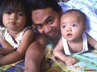 bersama ayah, keluarga, family, together, senang, senyum, keluarga bahagia
