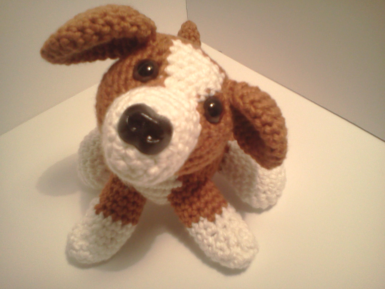 Free Crochet Patterns For Dogs : Serendipity Creative: Lily Baby Beagle AmiPal Amigurumi ...