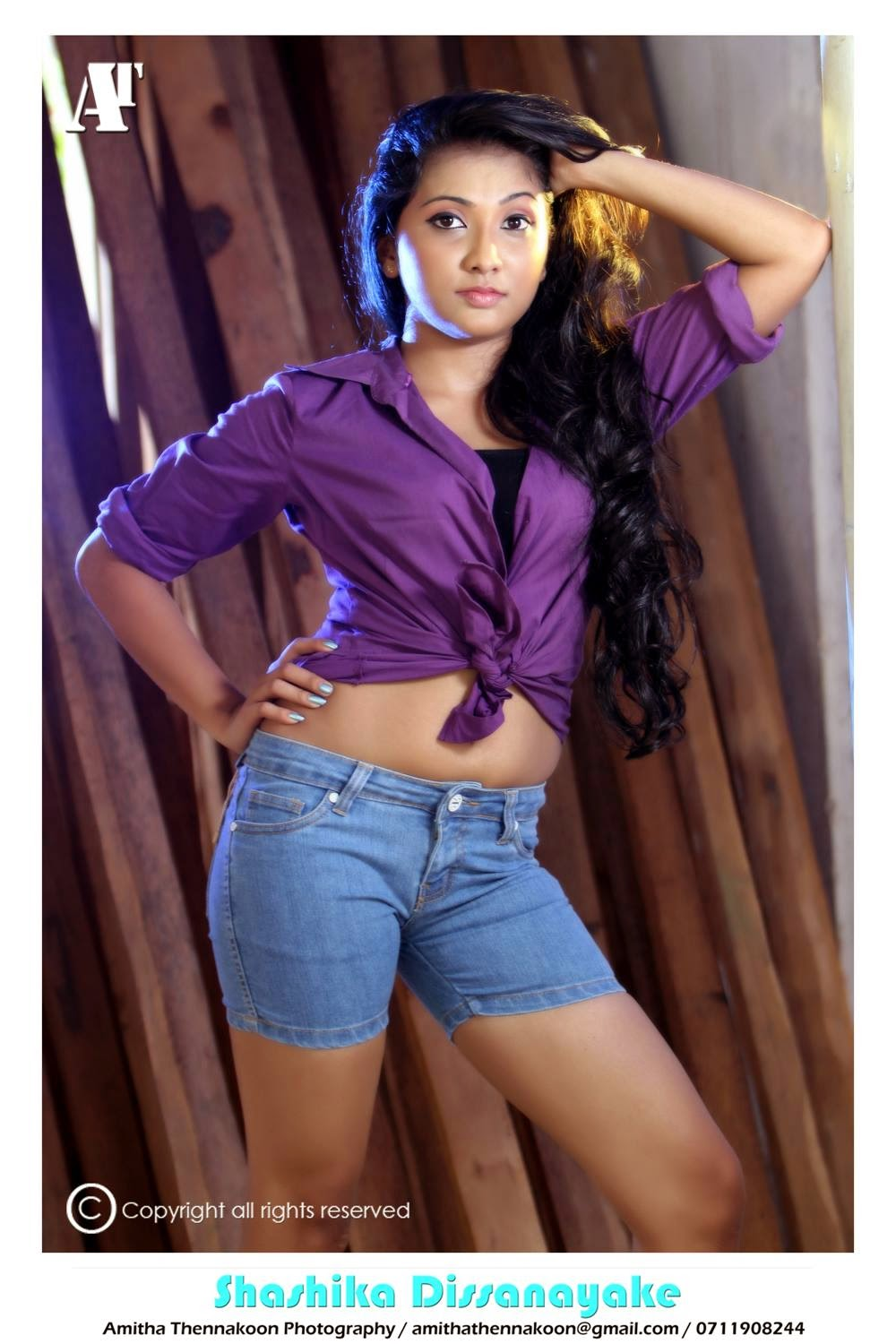 Shashika Dissanayake tight hot
