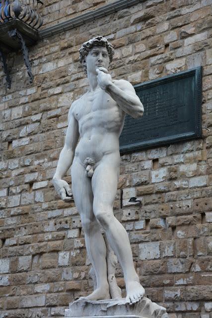 Palazzo Vecchio Florence David Michelangelo