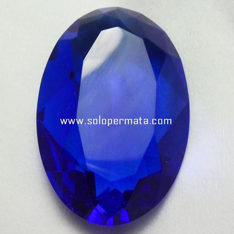 Batu Permata Blue Obsidian - 22A04 + Memo