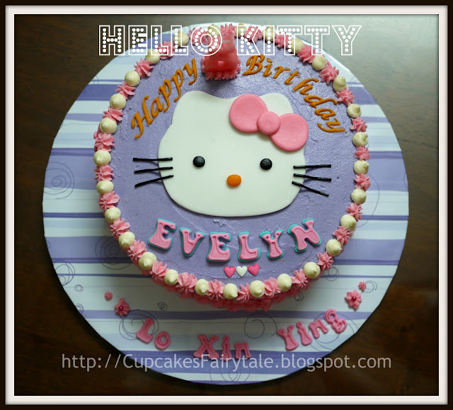 Cupcakes Fairytale: HELLO KITTY - EVELYN LOH XIN YING S ...