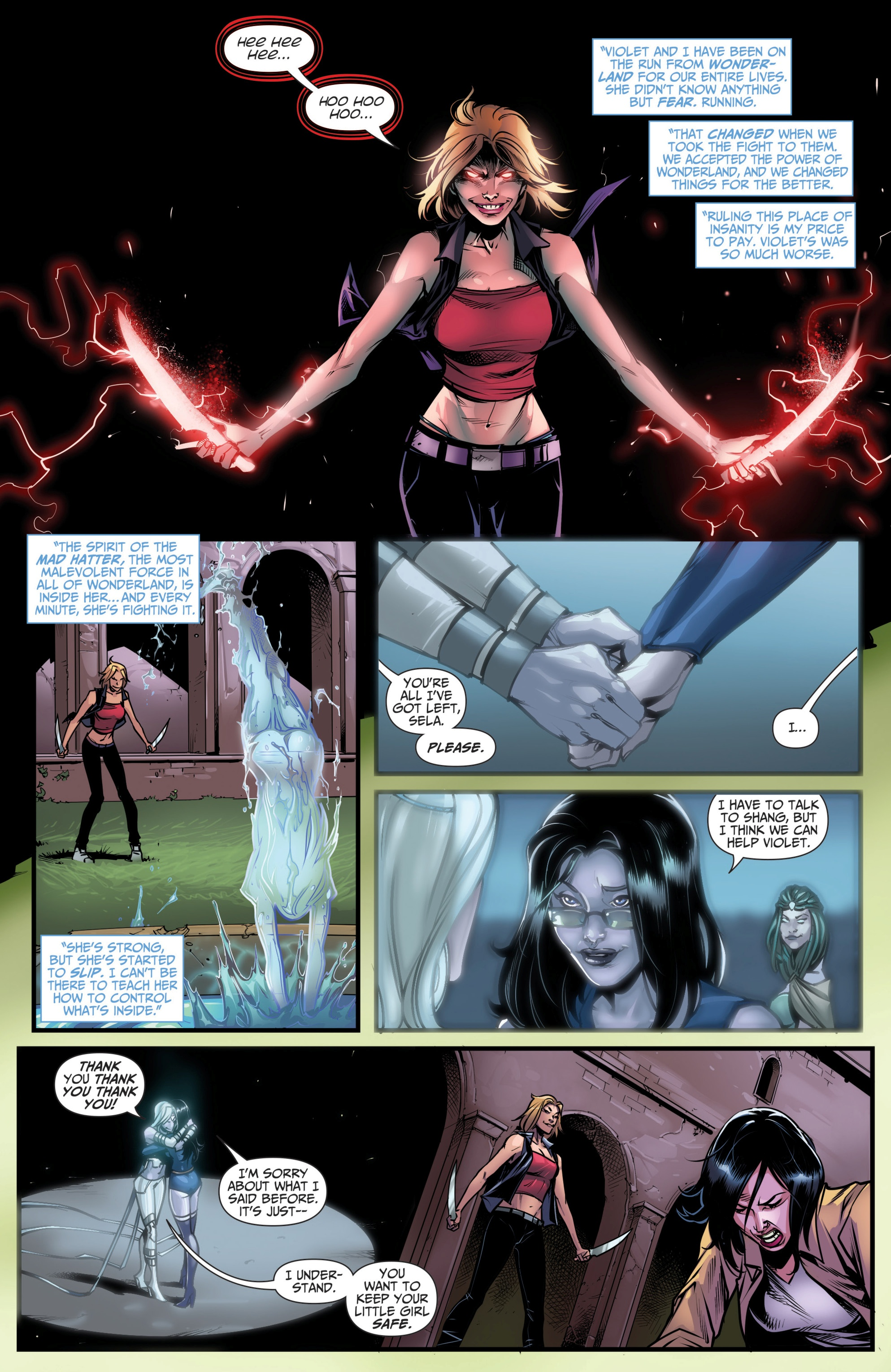 Grimm Fairy Tales (2005) Issue #111 #114 - English 6