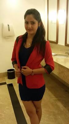 Hot Nepali Actress Barsha Siwakoti On Skirt